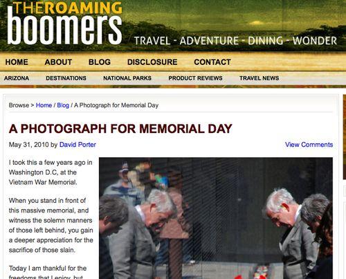 Memorial-porter