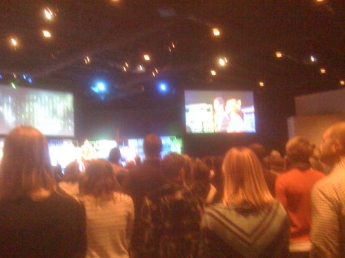 Palm Sunday at Ada Bible Church.