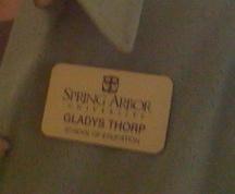 Gladys badge