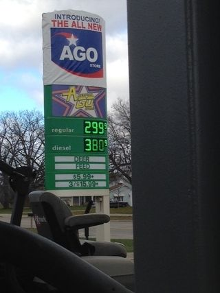 Cheap gas in Belding, Michigan