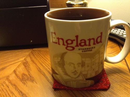 Starbucks England mug
