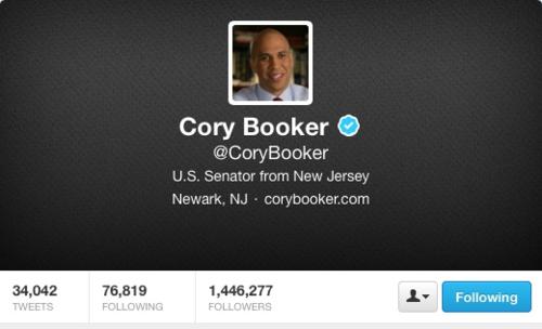 Corey booker