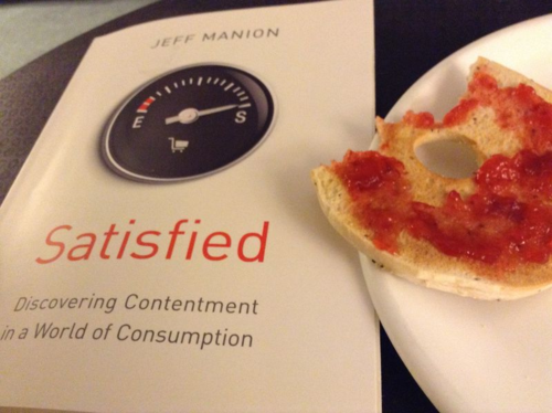 Jeff Manion's new book on contentment