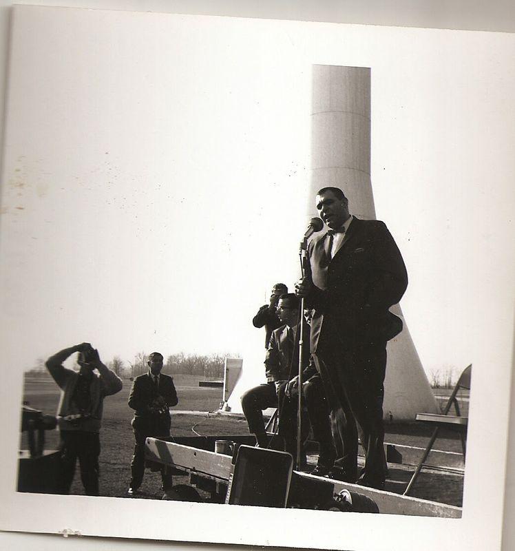 Vietnam War Rally at Delta College.