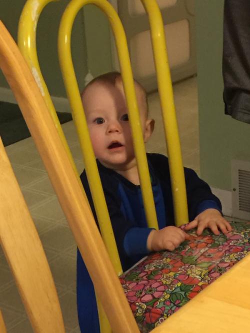 My grandson Jacob.