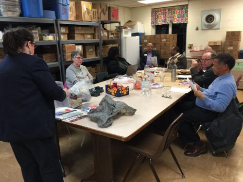 Averill Woods Neighborhood Association meeting.