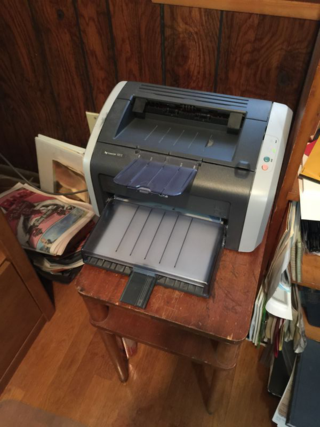 Our old printer.