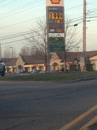 Southwest Lansing gas price
