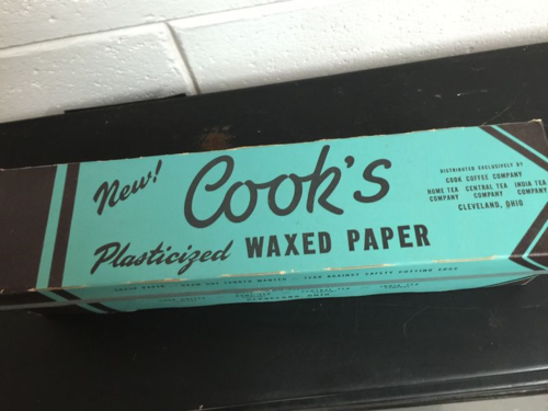 Cook's Waxed Paer