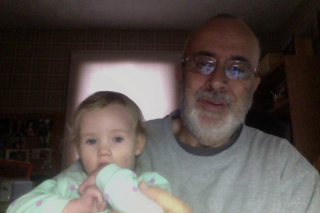 Me and my granddaughter.