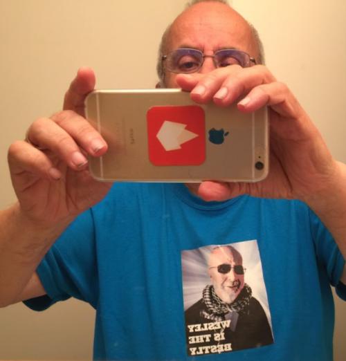 A birthday selfie